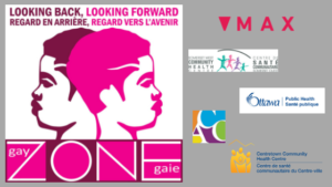 gay zone 10th Anniversary with logo and partners