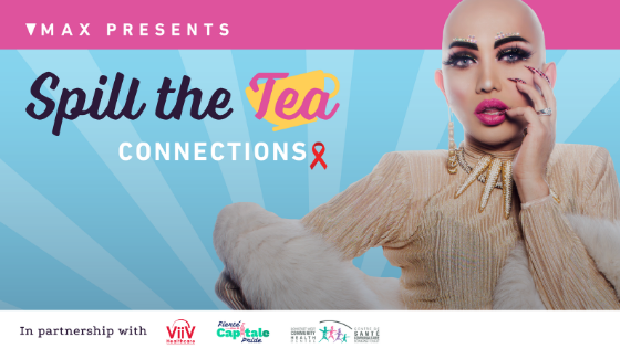 Spill the Tea Ongina World Aids Day HIV PNP chemsex Gay Bi queer men trans two-spirit