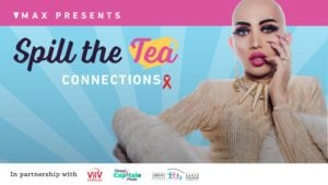 Poster for Spill the tea for Ongina event