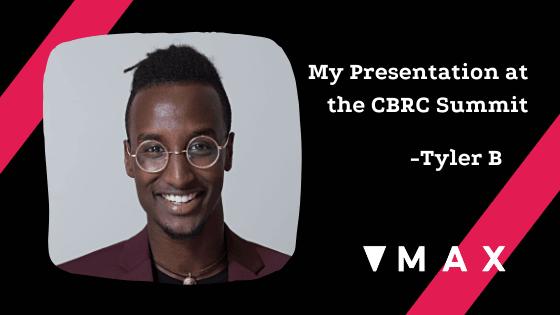 Tyler Boyc'e blog piece from CBRC Summit