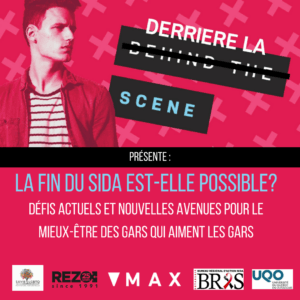 poster for Derriere la scene.