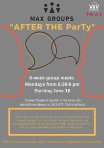 MAX Group poster for After the Party.