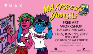 MAXpress yourself poster for June 11 2019 event