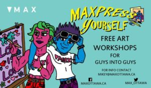 MAXpress yourself poster
