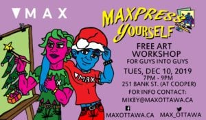 MAXpress yourself poster for for Dec 10 2019