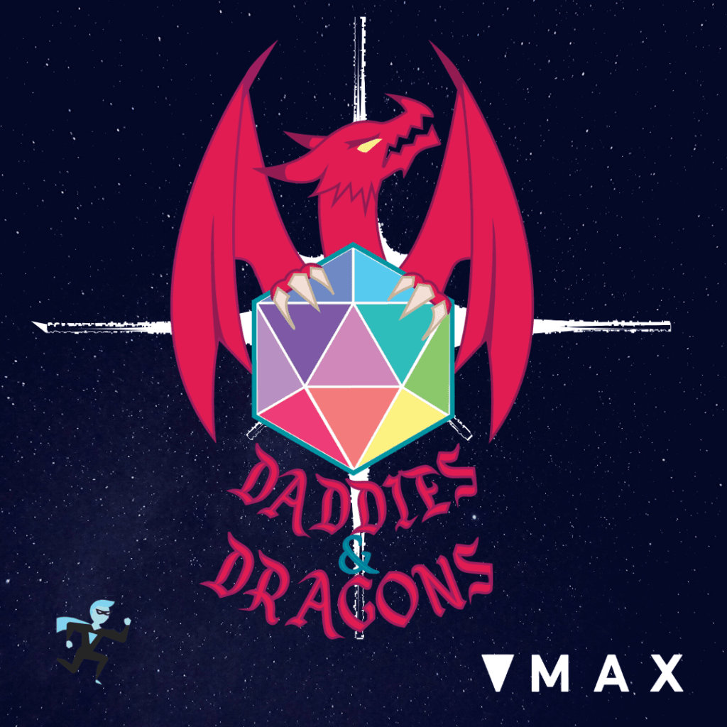 Daddies and Dragons program poster
