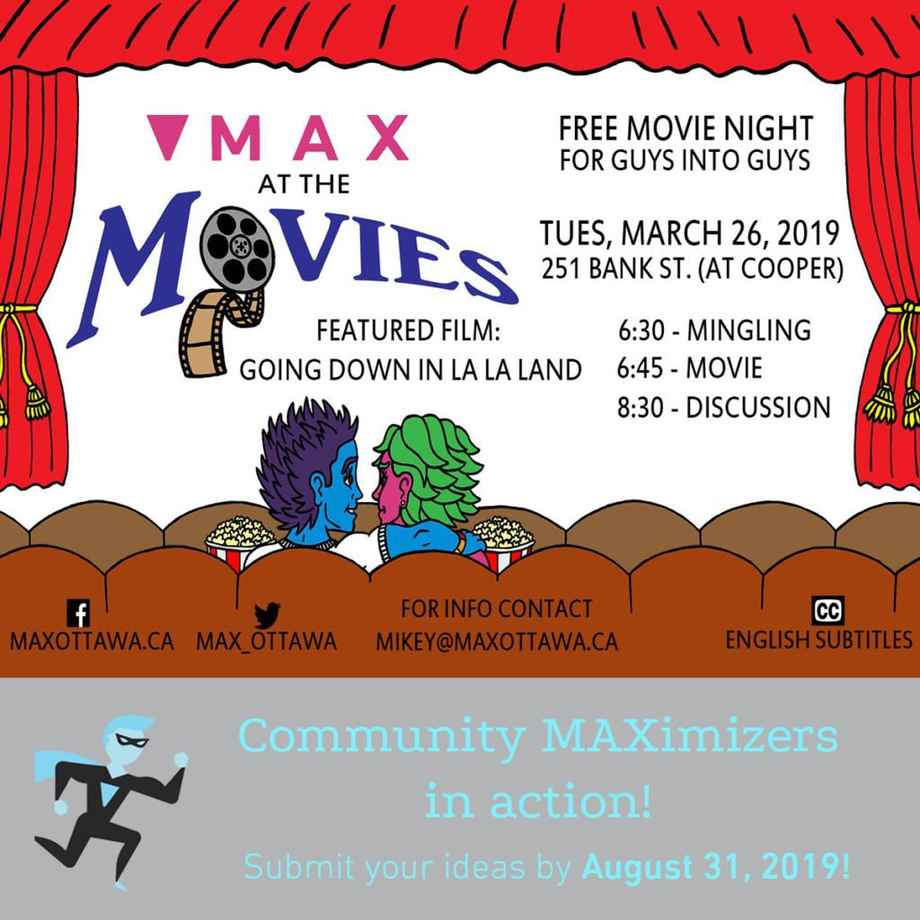 MAX At The Movies poster for Community MAXimizer Program