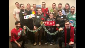 Max Ottawa Team at the holidays