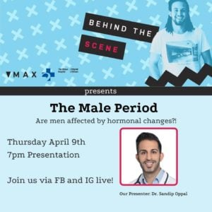 Behind the Scene: The Male Period