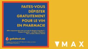 Faites Vous Depister Gratuitement pour le VIH en pharmacie