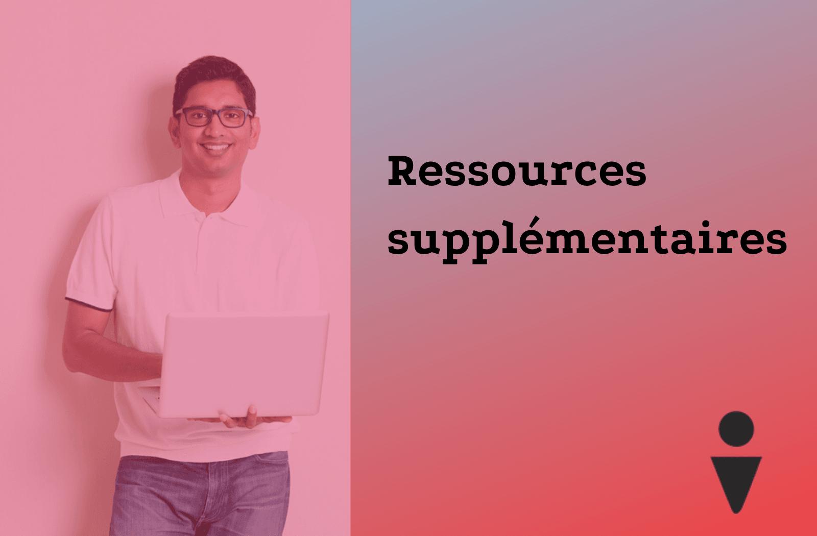 ressources supplément