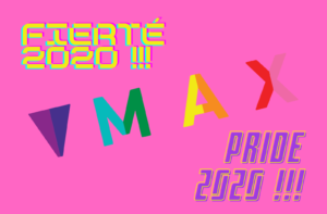 MAX Pride 2020 Fierte 2020 website banner