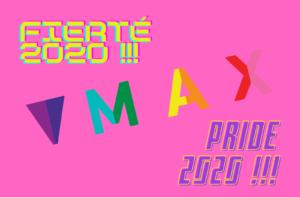 MAX Pride 2020 Fierte 2020 website banner